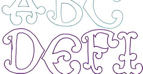 Molde de letras grandes y originales. | RECREAR ...