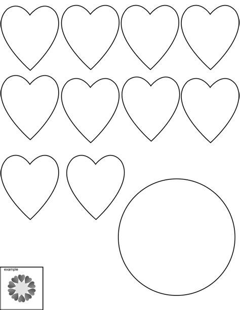 Moldes de corazones para imprimir y recortar   Imagui