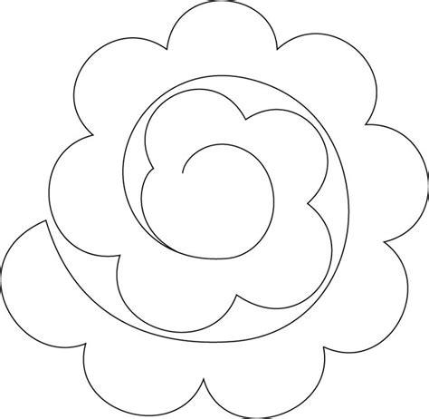 Moldes de Desenhos de Flores Para Imprimir | Mensagens e ...