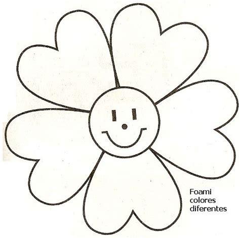 Moldes de flores de foami para imprimir   Imagui | Flores ...