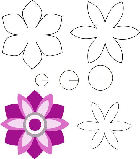 moldes de fomi para navidad flores yonaimi | Patrones de ...
