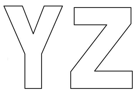 Moldes de Letras do Alfabeto em EVA para Imprimir para ...