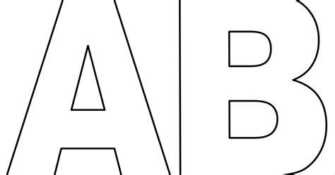 Moldes de letras do alfabeto em tamanho grande para ...