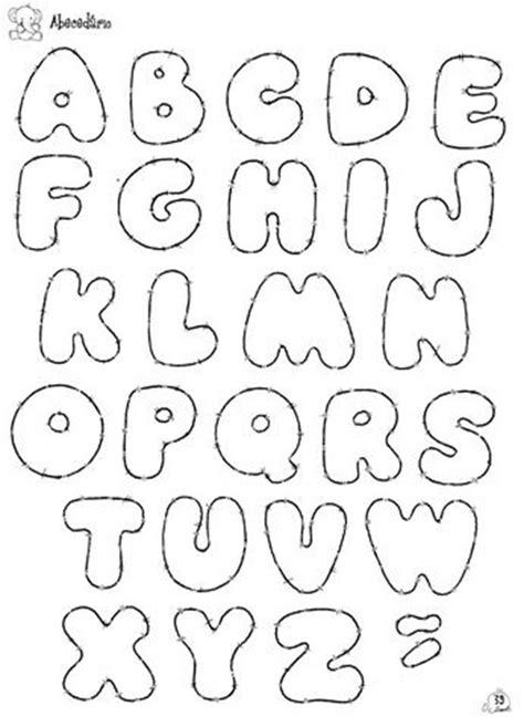 Moldes de letras em EVA | Letras, Molde y Abecedario