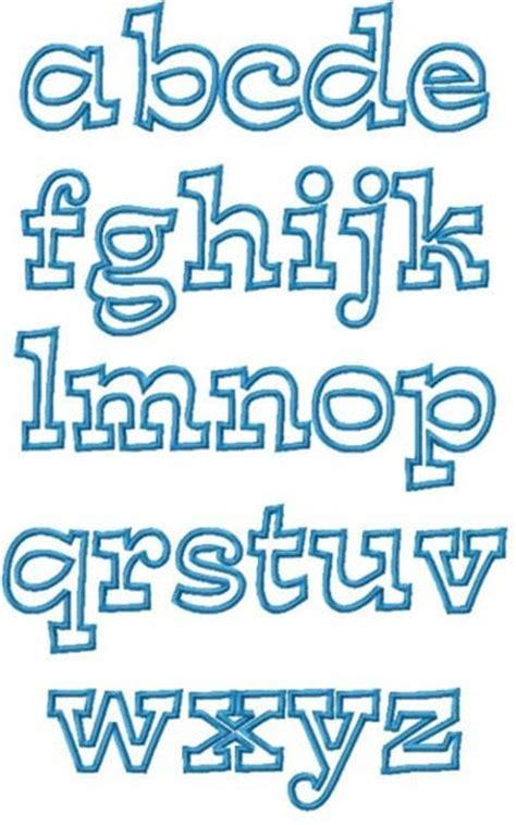 Moldes de letras en foami para imprimir y recortar ...