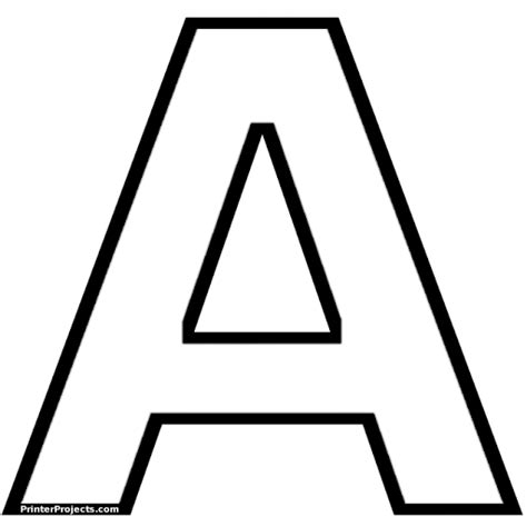 Moldes de letras grandes para carteles - Imagui