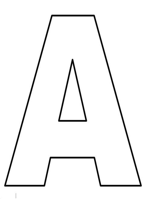 Moldes de Letras Grandes para imprimir   junho/2018