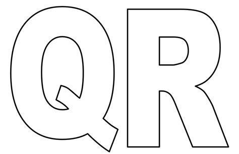 Moldes de Letras para Imprimir do Alfabeto | Ideias Mix