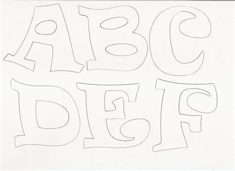 moldes de letras para imprimir molde de letras para ...