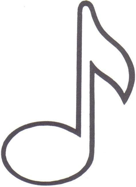 Moldes de notas musicales grandes para imprimir - Imagui
