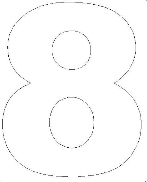 Moldes de Números em EVA para Imprimir de Diferentes ...