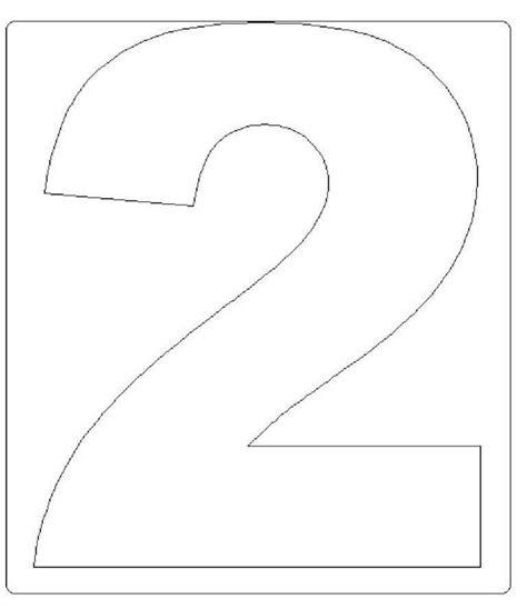 Moldes de Números em EVA Para Imprimir | Mensagens e ...