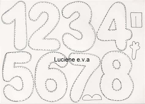 moldes de numeros para imprimir 5 | MOLDES DE LETRAS ...