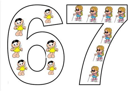Moldes de números para imprimir