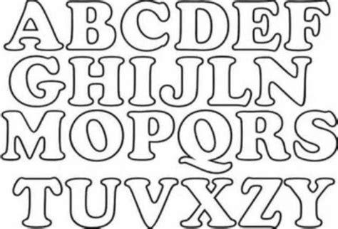 Moldes letras abecedario grandes para imprimir | Letras ...