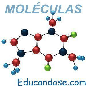 Moléculas Tipos, Definición y Conceptos   ⊛ 【 Educándose ...