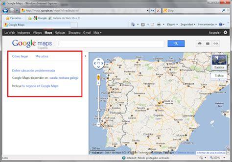 Molts Bits: Mapas en internet para negados. Google Maps  2