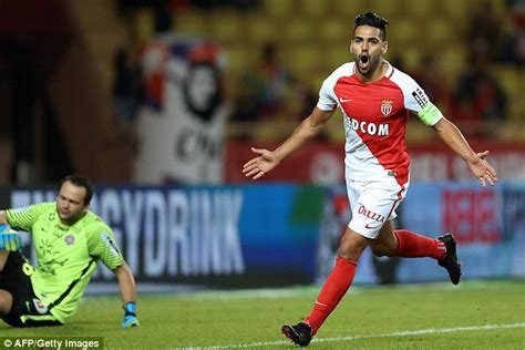 Monaco 6-2 Montpellier: Radamel Falcao marks return from ...
