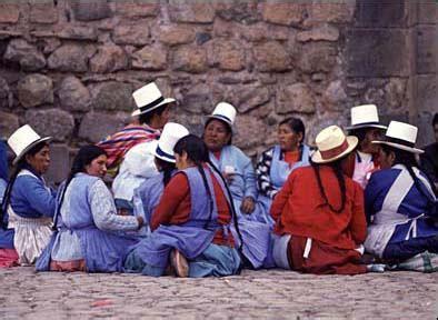 MONDO LATINO - Perù - Popolazione