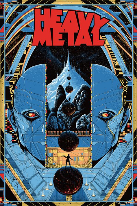 Mondo's HEAVY METAL Movie Poster — GeekTyrant