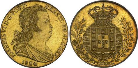 Moneda 4 Escudo Reino de Portugal (1139-1910) Oro 1824 ...
