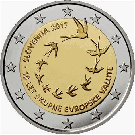 moneda conmemorativa 2 euros Eslovenia 2017., Tienda ...