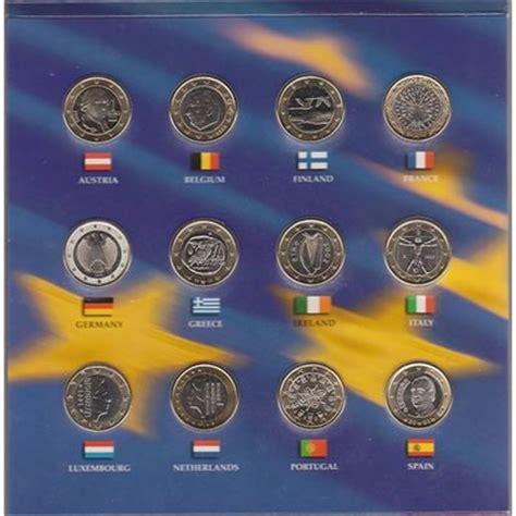 Monedas 1 euro 12 paises y 1/4 dollar USA 2002, Tienda ...