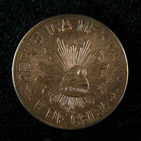 Monedas de México: 5 CENTAVOS CHIHUAHUA 1914 Y 1915