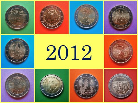 Monedas y Mundo: 2012: Monedas Conmemorativas de 2 Euros