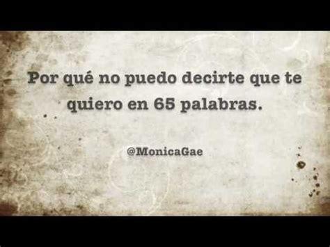Monica Gae - por qué no puedo decirte que te quiero en 65 ...