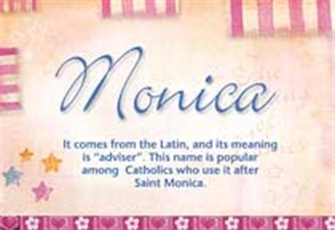 Monica Name Meaning - Monica name Origin, Name Monica ...