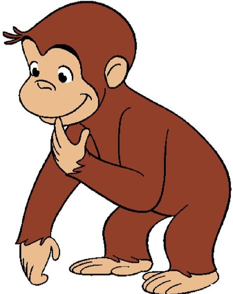 Monkey Clip Art Black And White Images????