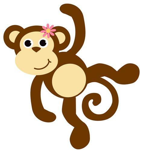 Monkey Clip Art Black And White Images????