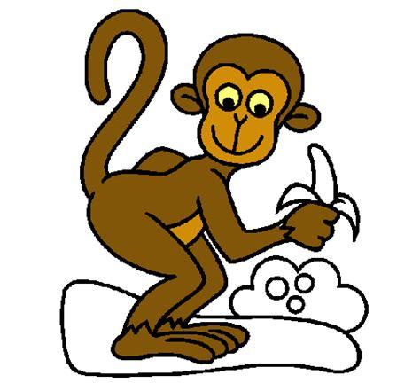 Mono dibujo pintado - Imagui