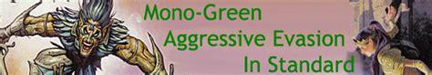 Mono-Green Aggressive Evasion in Standard - Articles - MTG ...