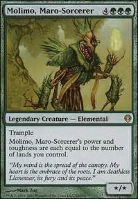 Mono-Green MTG decks — TappedOut.net