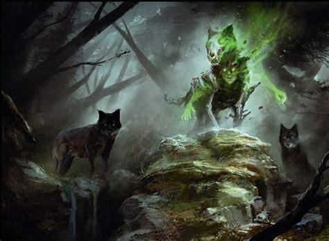 Mono Green Werewolves | MTG Amino