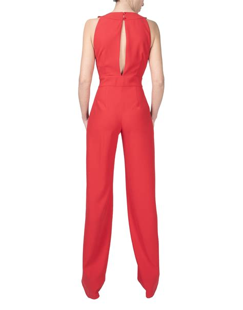 Mono rojo - Pantalones - Mujer | Roberto Verino