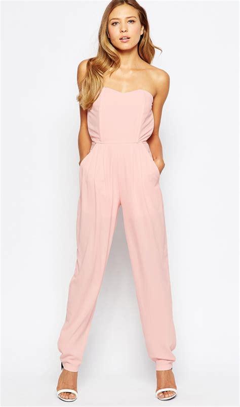 Monos largos para bodas: jumpsuit rosa de ASOS - 10 monos ...