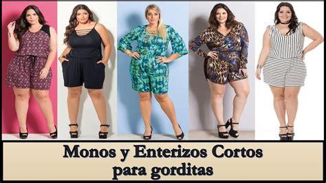 Monos y Enterizos Cortos MODA PARA GORDITAS♥   YouTube
