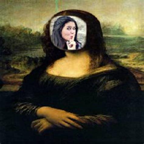 Montagem de fotos   Engraçadas   Molduras online Mona Lisa