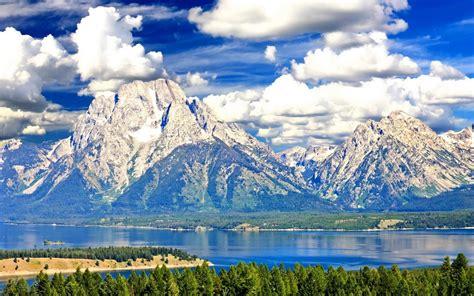 Montañas Árboles Río Claro fondos de pantalla | Montañas ...