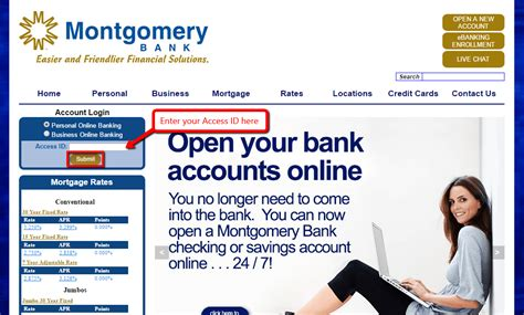 Montgomery Bank Online Banking Login - CC Bank