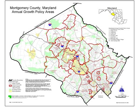 Montgomery Planning: Geographic Information Systems - Map ...