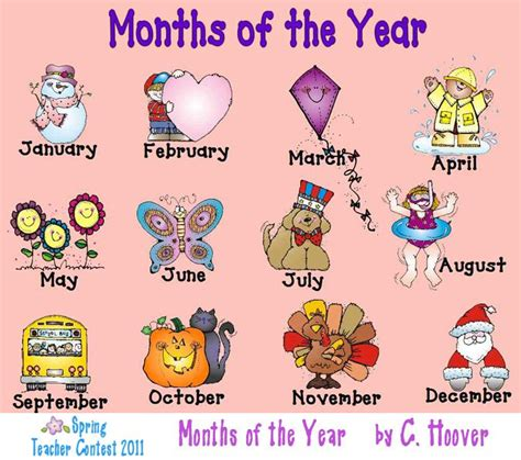 Months of the Year Poster | Beginner Chinese Vocabulary ...