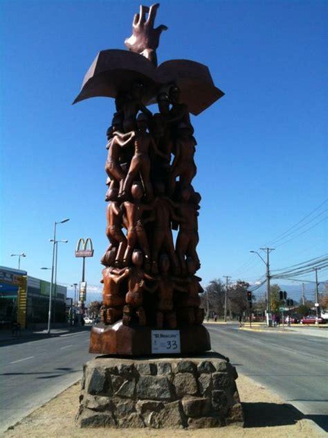 monumento por los 33 mineros de Chile. Rancagua en ...