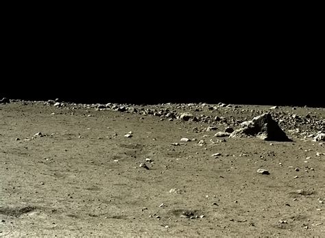Moon's surface shot by the Chinese lunar landers (15) | HD ...