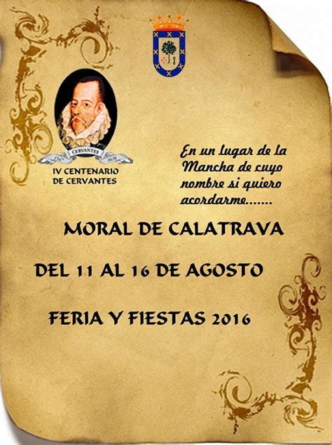 Moral de Calatrava: Feria y Fiestas 2016 – Almagro Noticias
