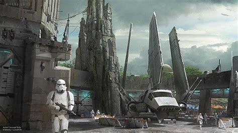 More details for Star Wars themed lands at Disney parks ...