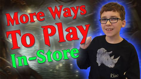 More Ways to Play Magic the Gathering In Store - YouTube